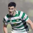 Kieran Tierney is the subject of transfer rumours (Ian Rutherford/PA)