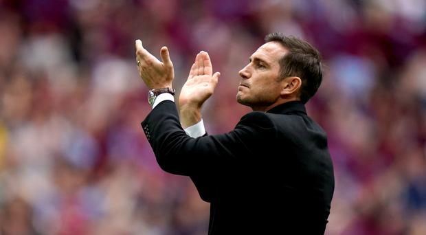 Derby are braced for a difficult spell if Frank Lampard leaves for Chelsea (John Walton/PA)