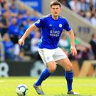 Harry Maguire does not look to be heading to Manchester United this summer, reports suggest (Mike Egerton/PA)