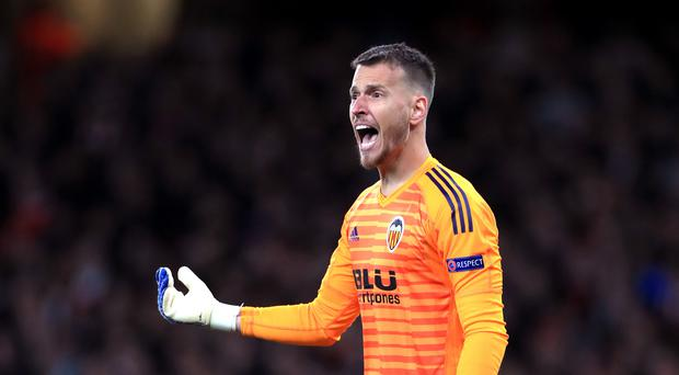 Neto joins Barcelona after two years with Valencia. (Mike Egerton/PA)