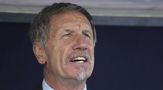 South Africa coach Stuart Baxter has warned his side to respect Namibia (Hassan Ammar/AP)