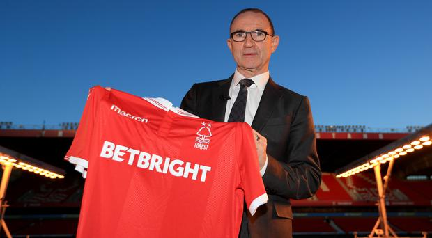 Martin O'Neill has been sacked as Nottingham Forest manager (Mike Egerton/PA)