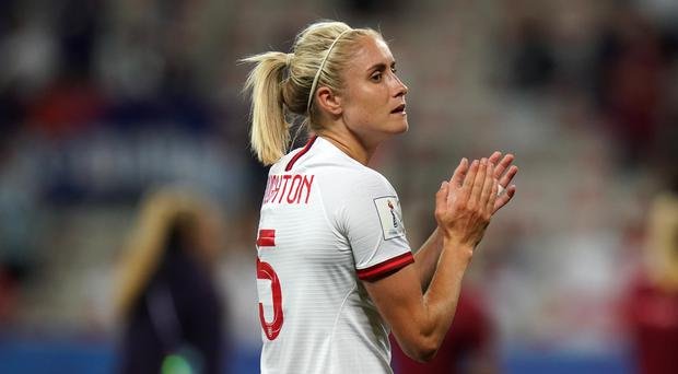 England's Steph Houghton hopes to lead her side to their first World Cup final (John Walton/PA)