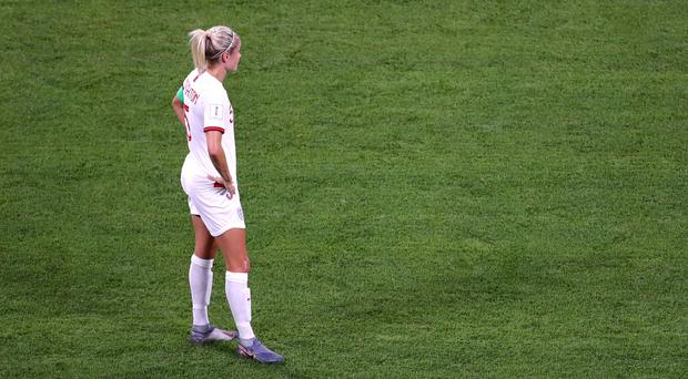 Steph Houghton missed a late penalty (Richard Sellers/PA)