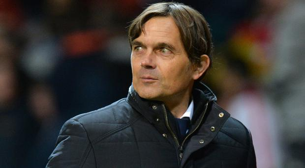 Phillip Cocu is expected to be named as Derby's new boss. (Martin Rickett/PA)
