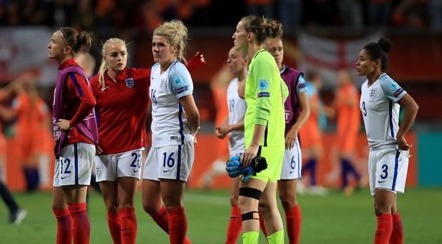 England were well beaten by hosts Holland in the semi-finals of Euro 2017 (Mike Egerton/PA)