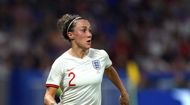 Lucy Bronze believes a trophy is just around the corner for England (John Walton/PA)