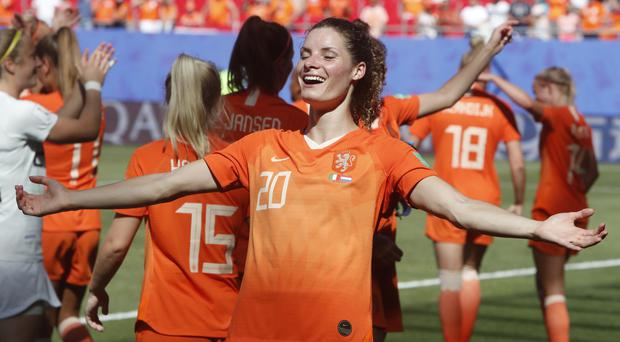 Holland defender Dominique Bloodworth is married to an American (Michel Spingler/AP)