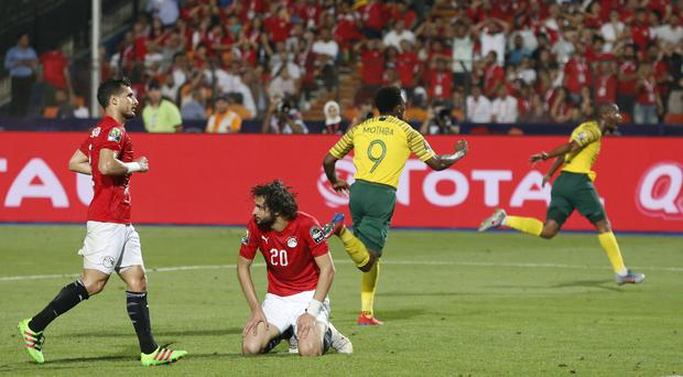 South Africa celebrate as Egypt suffer home heartbreak (Ariel Schalit/AP)