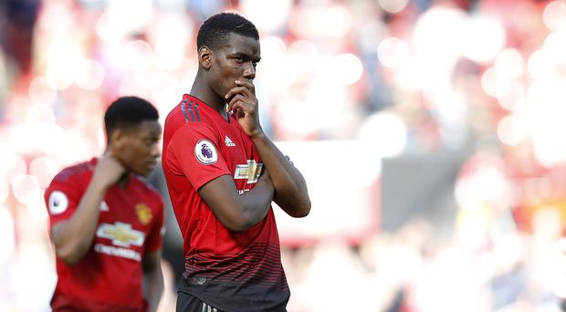Paul Pogba has been linked with a summer move away from Manchester United (Martin Rickett/PA)