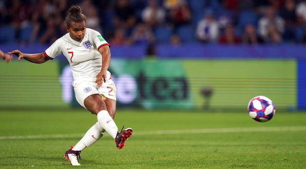 Nikita Parris helped England reach the semi-finals of the Women's World Cup in France (John Walton/PA)