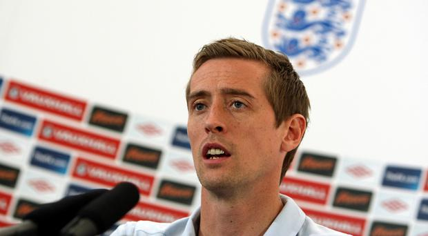 Peter Crouch made 42 appearances for England, scoring 22 goals (Steve Parsons/PA)