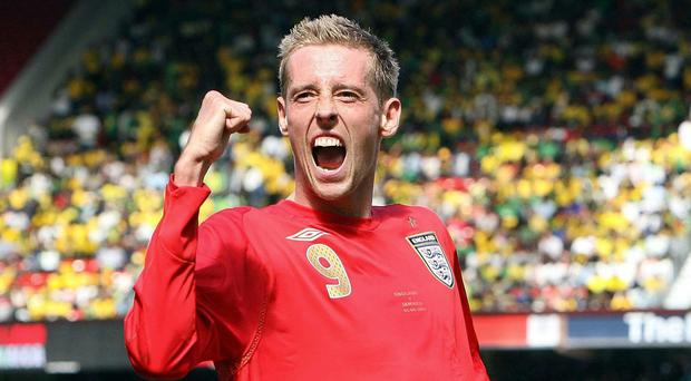 Peter Crouch scored 22 times for England (Owen Humphreys/PA)