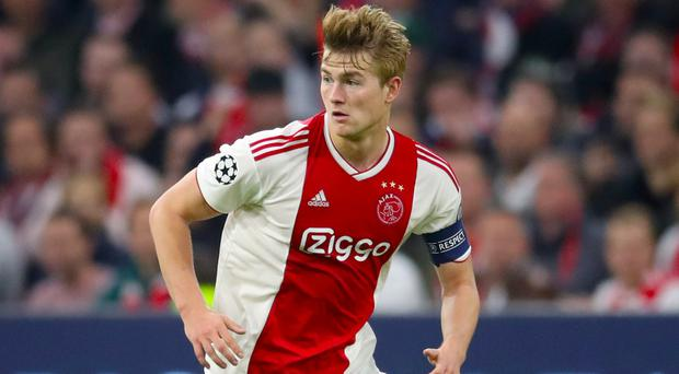 Matthijs De Ligt has been a top transfer target for several of Europe's biggest clubs this summer (Adam Davy/PA)