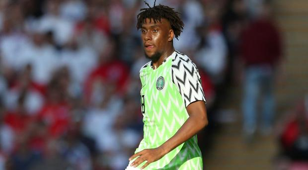 Alex Iwobi has featured in all Nigeria's matches at the Africa Cup of Nations (Steven Paston/PA)