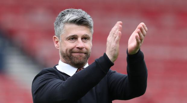 Stephen Robinson was pleased with the strength of his squad (Andrew Milligan/PA)