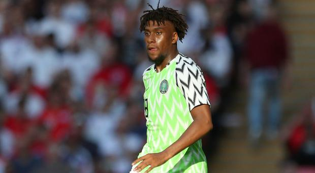Arsenal forward Alex Iwobi knows Nigeria must lift themselves from the despair of defeat (Steven Paston/PA)