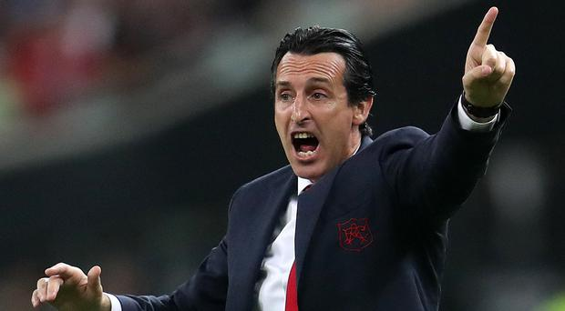 Unai Emery wants to bolster his Arsenal squad in the coming days (Bradley Collyer/PA)