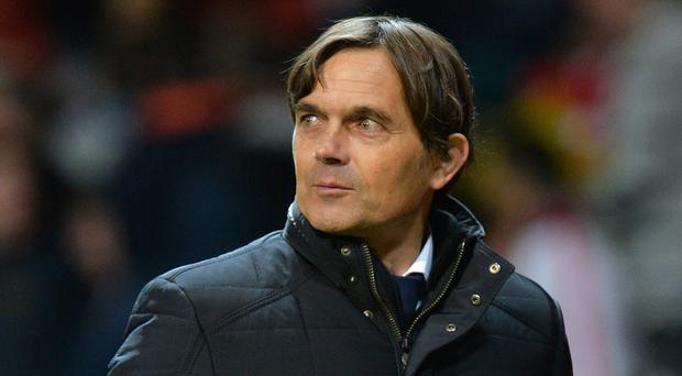 Phillip Cocu has taken over from Frank Lampard at Derby (Martin Rickett/PA)