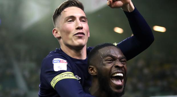 Harry Wilson (left) and Fikayo Tomori impressed during their loan spells at Derby last season (Nick Potts/PA)