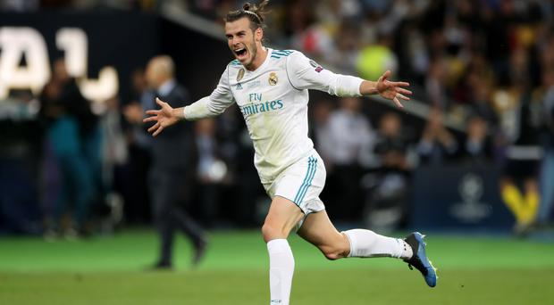 Gareth Bale's stay at Real Madrid looks to be coming to an end with a move to China reportedly lined up (Nick Potts/PA)