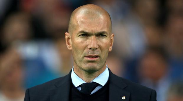 Zinedine Zidane's Real side were heavily beaten (Nick Potts/PA)