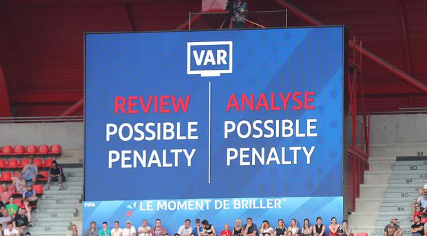 Swarbrick does not believe VAR will cause lengthy delays (Richard Sellers/PA)