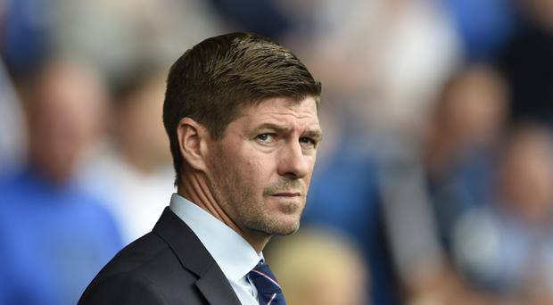 Steven Gerrard was relieved to see his side open their Premiership campaign with a victory (Ian Rutherford/PA)