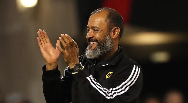 Wolves boss Nuno Espirito Santo may be taking his side to Italy (Liam McBurney/PA)