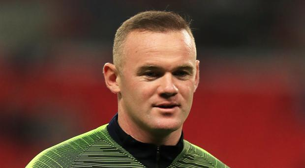 Wayne Rooney will join Derby in January (Mike Egerton/PA)