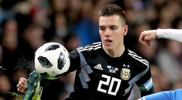 Giovani Lo Celso is closing in on a move to Tottenham (Martin Rickett/PA)