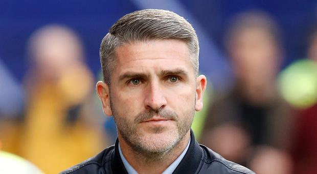 Ryan Lowe is preparing for his first home game in charge of Plymouth (Martin Rickett/PA)