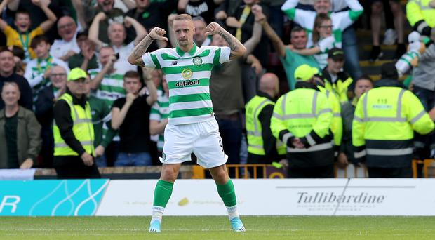 Leigh Griffiths was on target for Celtic (Jane Barlow/PA)
