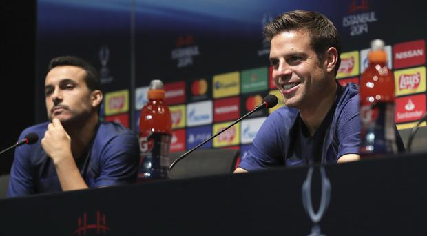 Azpilicueta (right) believes Chelsea have learned from their drubbing at Old Trafford (UEFA/PA)