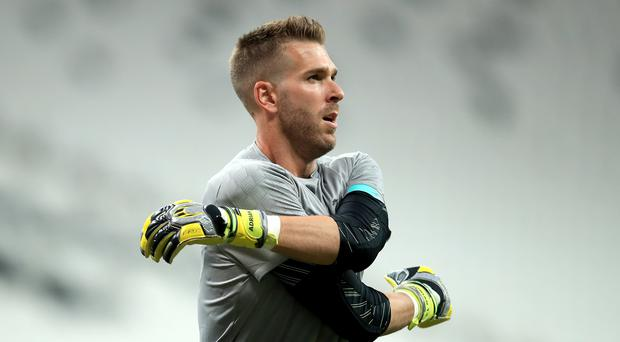 Adrian was unexpectedly pressed into early action for Liverpool (Adam Davy/PA)
