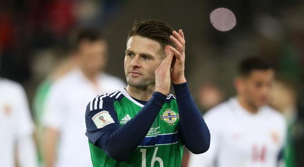 Sheffield United midfielder Oliver Norwood has announced his retirement from international football with Northern Ireland (Niall Carson/PA)