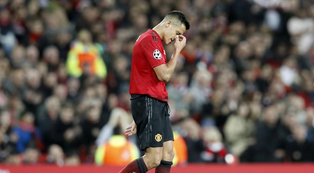 Alex Sanchez could be leaving Manchester United (Martin Rickett/PA)