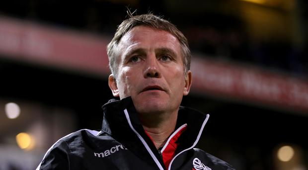 Bolton manager Phil Parkinson has resigned after three years in charge (Tim Goode/PA)