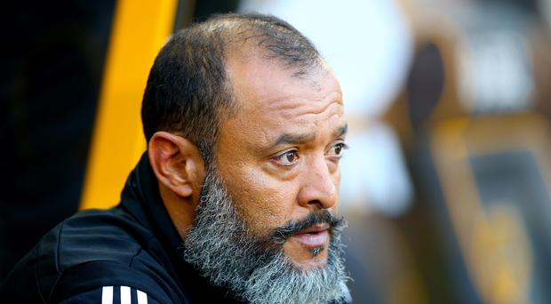 Wolves manager Nuno Espirito Santo has dismissed suggestions the club could be favoured by Portuguese officials (Nigel French/PA)