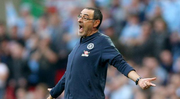 Juventus coach Maurizio Sarri will miss the first two league matches of the season as he recovers from pneumonia (Nigel French/PA)