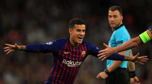 Philippe Coutinho is not expected to make his debut for Bayern Munich as they face Schalke (Mike Egerton/PA)