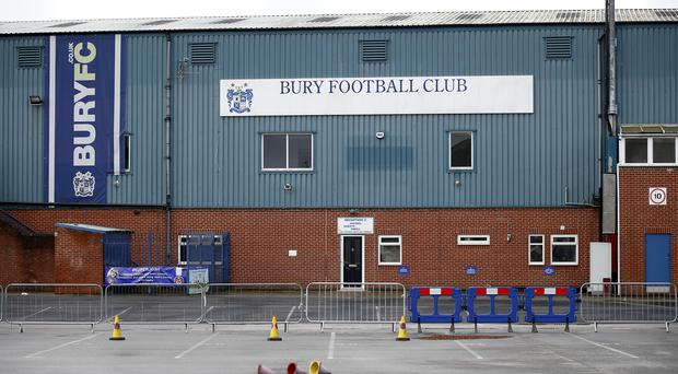 Bury have been granted extra time by the EFL (Martin Rickett/PA)