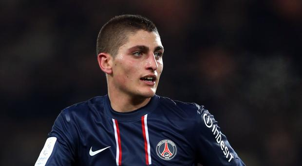 Italy midfielder Marco Verratti has started his eighth season at Paris St Germain (Mike Egerton/PA)