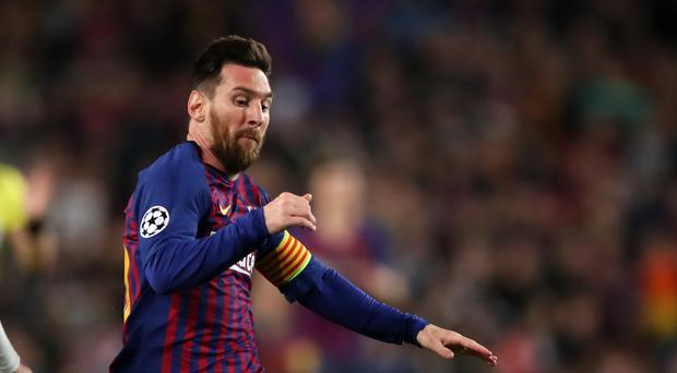 Barcelona will be hoping to welcome back Lionel Messi for the visit or Real Betis (Nick Potts/PA)