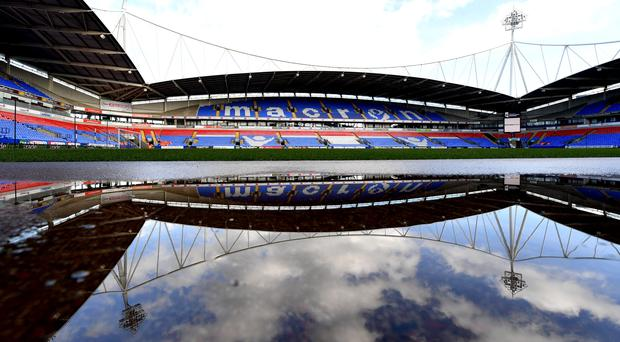 The University of Bolton Stadium (Dave Howarth/PA)
