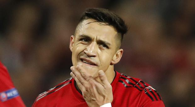 Manchester United's Alexis Sanchez has joined Inter Milan on loan (PA)