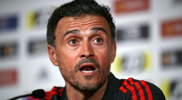 Luis Enrique has announced the death of his daughter (Nick Potts/PA)