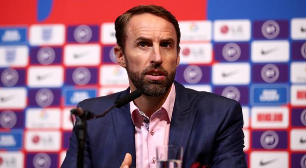 England manager Gareth Southgate left Kyle Walker out of his squad (Tim Goode/PA).