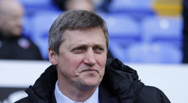 Bolton interim manager Jimmy Phillips (Richard Sellers/PA)