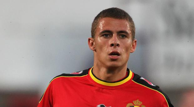 Borussia Dortmund's Thorgan Hazard, who misses this weekend's Union Berlin game due to injury (Lynne Cameron/PA)